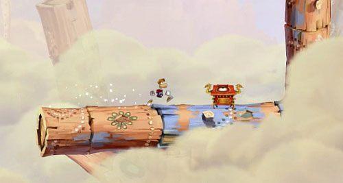 1 - Nie strzelaj tyle (300 L); Rzępolony pościg - Pustynia Dijirdów - Rayman Origins - poradnik do gry