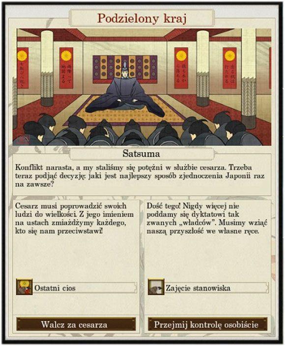 Niespodziewany zwrot akcji - Dyplomacja - Total War: SHOGUN 2 - Zmierzch Samurajów - poradnik do gry