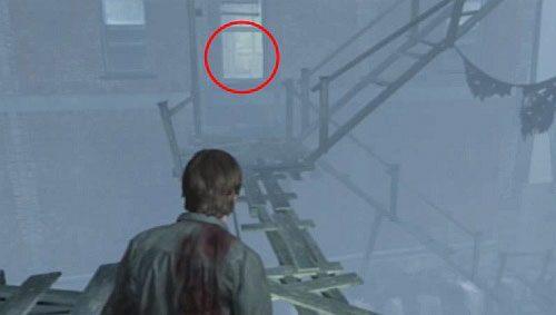 Teraz zawróć i idź od drabiny w lewą stronę - Misje poboczne (2) - Silent Hill cz.1 - Silent Hill: Downpour - poradnik do gry