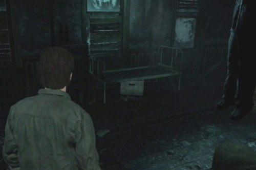 Wejd� do �rodka pokoju przez drzwi, na kt�rych by�a notka - Misje poboczne - Budynek mieszkalny - Silent Hill: Downpour - poradnik do gry