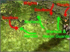 Ostatnia walka czeka cię przed drugim mostem - Misja 3 - Journey To Llancarfan - Myth III: Era Wilka - poradnik do gry