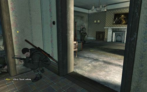 Id� dalej w g�r� - Misja 3 - Muzeum Kaiser-Friedrich (1) - Sniper Elite V2 - poradnik do gry