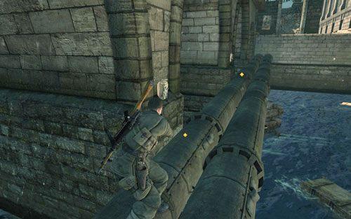 Dotrzesz w końcu pod most - Misja 3 - Muzeum Kaiser-Friedrich (2) - Sniper Elite V2 - poradnik do gry