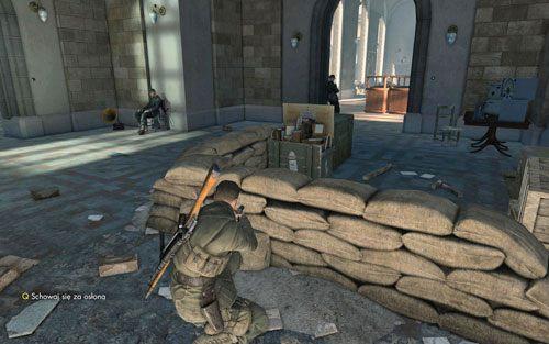 Przez muzeum możesz przejść po chichu na wiele różnych sposobów - Misja 3 - Muzeum Kaiser-Friedrich (2) - Sniper Elite V2 - poradnik do gry