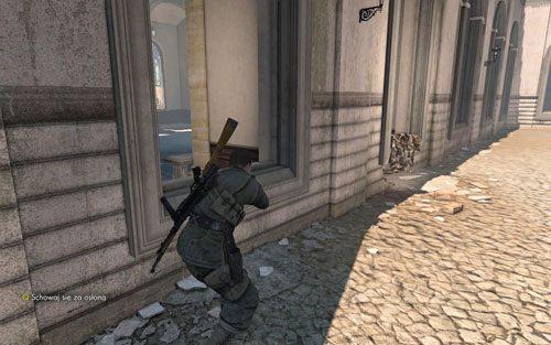 Do pierwszej ślepej uliczki [#8] powinieneś dotrzeć bezproblemowo - Misja 3 - Muzeum Kaiser-Friedrich (2) - Sniper Elite V2 - poradnik do gry
