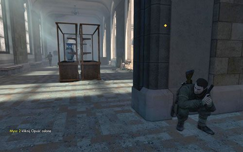 Idź cały czas przed siebie - Misja 3 - Muzeum Kaiser-Friedrich (2) - Sniper Elite V2 - poradnik do gry