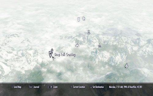Deep Folk Crossing On Map Maps Catalog Online