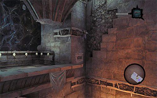 Przystąp teraz do wspinaczki, odnajdując występ i docierając do interaktywnej krawędzi - Znajdź Wiekuisty Tron (2) - Władca Kości - Darksiders II - poradnik do gry