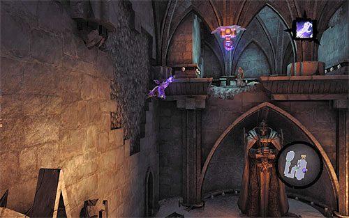 Powróć na dół, a konkretnie do interaktywnej krawędzi pokazanej na jednym z poprzednich screenów - Znajdź Wiekuisty Tron (2) - Władca Kości - Darksiders II - poradnik do gry