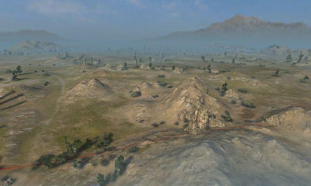 Stepy to otwarta mapa charakteryzująca się licznymi polami, małymi pagórkami oraz drobnymi obniżeniami terenu - Stepy - Mapy - World of Tanks - poradnik do gry