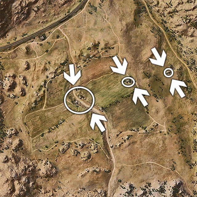 Podstawowe miejsca dla zwiadowców. - Stepy - Mapy - World of Tanks - poradnik do gry