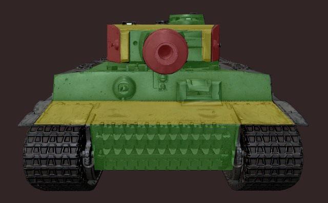 Co bardziej złośliwi gracze powiedzą, że cały PzKpwf VI Tiger jest jednym wielkim słabym punktem - Pz. Kpfw. VI Tiger - World of Tanks - poradnik do gry