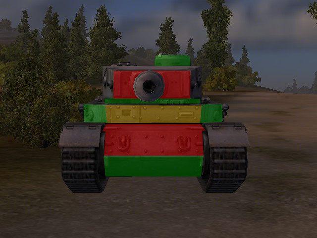 Pomimo, że PzKpwf VI Tiger (P) ma podaną grubość 200mm na przedzie, to jego pancerz jest bardzo niejednorodny - Pz. Kpfw. VI Tiger (P) - World of Tanks - poradnik do gry