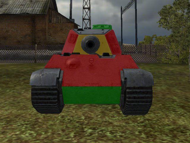 Front PzKpwf VIB Tiger II jest bardzo odporny na uszkodzenia - Pz. Kpfw. VIB Tiger II - World of Tanks - poradnik do gry