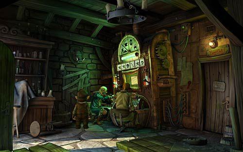 Wejdź do tawerny - Jak przerwać grę RPG? - Rozdział 2 - In the Town - The Book of Unwritten Tales - poradnik do gry