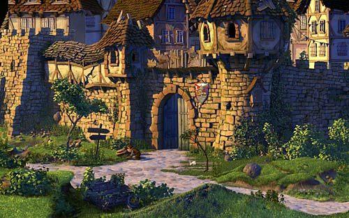 Wyjdź z tawerny, a następnie w ogóle z miasta - Jak przerwać grę RPG? - Rozdział 2 - In the Town - The Book of Unwritten Tales - poradnik do gry