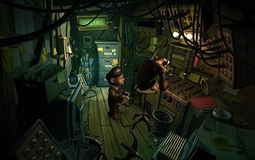 Wracaj do serwerowni - Jak przerwać grę RPG? - Rozdział 2 - In the Town - The Book of Unwritten Tales - poradnik do gry