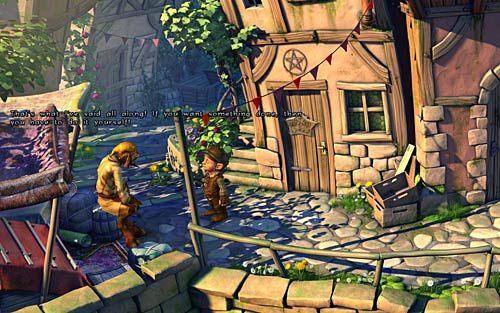 Wyjdź z kanałów i idź do kupca - Wilbur zostaje magiem (1) - Głodne szczury - Rozdział 2 - In the Town - The Book of Unwritten Tales - poradnik do gry