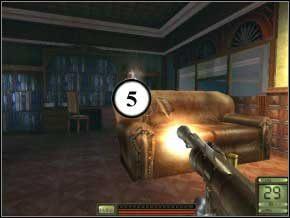Wyjdź z pokoju cały czas na klęczkach i w prawo - Praga - Soldier of Fortune 2: Double Helix - poradnik do gry