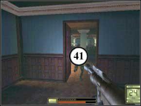 Obok lady czeka kolejna trójka do odstrzału, strzelaj z pistoletów i zbliżaj się do nich, to nabierzesz celności (42) (43) (44) - Praga - Soldier of Fortune 2: Double Helix - poradnik do gry