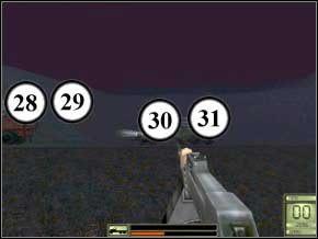 Nie wyjmuj jeszcze broni i nie strzelaj do nikogo, biegnij za doktorem do toalet, wejdź do środka - Praga - Soldier of Fortune 2: Double Helix - poradnik do gry