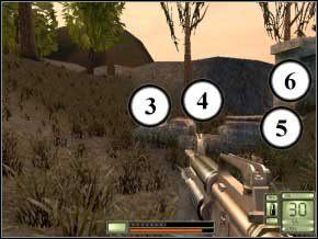 Znacznie dłuższy poziom - idź przed siebie, w prawo lub lewo, za mur - Colombia - Soldier of Fortune 2: Double Helix - poradnik do gry
