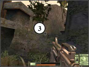 Prosto, wychyl się w prawo - w oddali czeka kolejny snajper (4) - Colombia - Soldier of Fortune 2: Double Helix - poradnik do gry