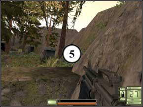 Na dole jest dwóch żołnierzy, zabij ich ze zwykłej broni lub snajperki (6) (7) - Colombia - Soldier of Fortune 2: Double Helix - poradnik do gry