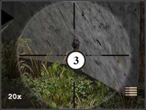 W domku po prawej jest pancerz i apteczka, lecz to na razie pewnie nie jest ci potrzebne (gdyż masz pełne zdrowie i pancerz) - Colombia - Soldier of Fortune 2: Double Helix - poradnik do gry