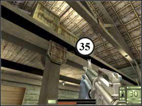 Za skrzynkami w rogu pomieszczenia czai się ostatni (36), dobij go i wyjdź z budynku - Colombia - Soldier of Fortune 2: Double Helix - poradnik do gry