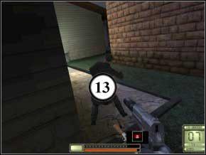 Skręć w lewo, a wpadniesz na kolejnego - szybka seria z karabinu ostudzi go (14) - Vergara - Soldier of Fortune 2: Double Helix - poradnik do gry