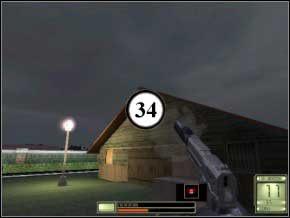 Natychmiast odwróć się w lewo, gdyż tam pojawi się nowy strażnik (35) - Vergara - Soldier of Fortune 2: Double Helix - poradnik do gry