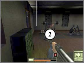 Wychyl się i zabij kolejnych dwóch - karabin lub dubeltówka (3) (4) - Vergara - Soldier of Fortune 2: Double Helix - poradnik do gry