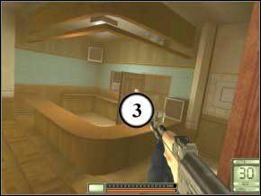 Zabij jeszcze jednego strażnika, który wybiegnie z głębi sali (4) - Vergara - Soldier of Fortune 2: Double Helix - poradnik do gry