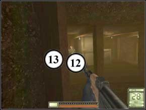 Idź w prawo, do korytarza - po chwili drzwi się otworzą i wybiegnie dwóch strażników - Vergara - Soldier of Fortune 2: Double Helix - poradnik do gry