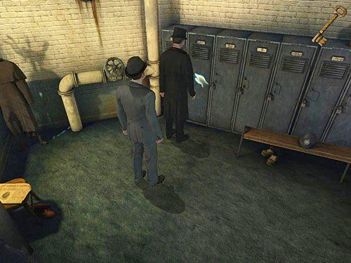 Biegnij więc tam zatem ponownie i odnajdź szafkę panny Jenny - Odblokuj drzwi do sutereny - Ucieczka z więzienia Westgate - Testament Sherlocka Holmesa - poradnik do gry