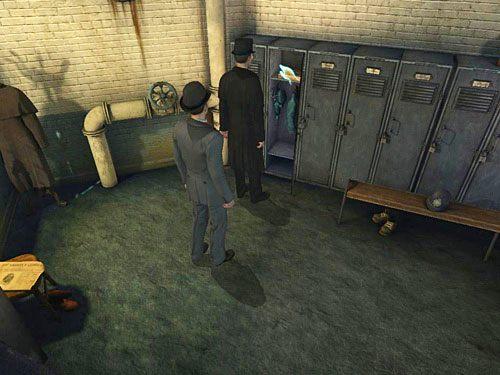 Zbadaj górną półkę, a przekonasz się, że dziewczyna ma tam skrytkę - Odblokuj drzwi do sutereny - Ucieczka z więzienia Westgate - Testament Sherlocka Holmesa - poradnik do gry