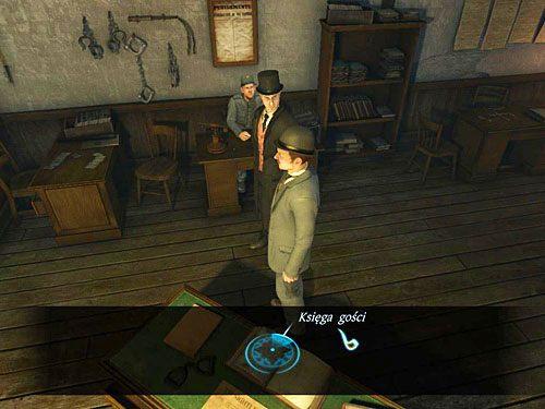 Maszeruj do Jenny i powiadom ją o odzyskanej zgubie - Odblokuj drzwi do sutereny - Ucieczka z więzienia Westgate - Testament Sherlocka Holmesa - poradnik do gry