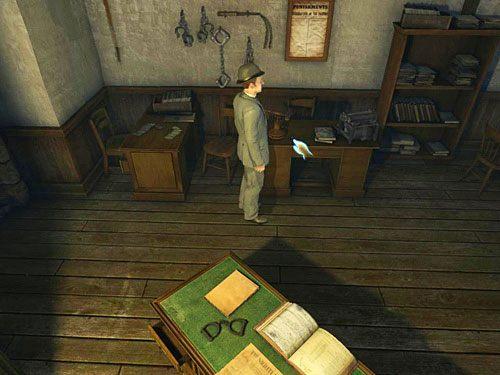 Weź zatem pęk kluczy leżący na biurku, przy którym wcześniej siedział OSullivan - Uruchom alarm - Ucieczka z więzienia Westgate - Testament Sherlocka Holmesa - poradnik do gry