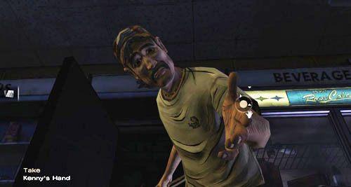 Niestety, Larry uderzy cię pozostawiając na pewną śmierć - 7 - Two Enter, One Leaves - Epizod I - A New Day - The Walking Dead - poradnik do gry