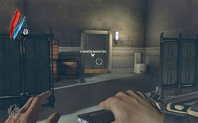 Do podw�rza mo�esz przedosta� si� na dwa zasadnicze sposoby - Dotarcie do podw�rza - Misja 2 - High Overseer Campbell - Dishonored - poradnik do gry