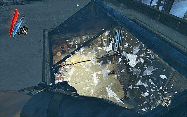 Nast�pnie istotne miejsce na naszej li�cie to [Warsztat - Workshop] - Zbadanie podw�rza - Misja 2 - High Overseer Campbell - Dishonored - poradnik do gry