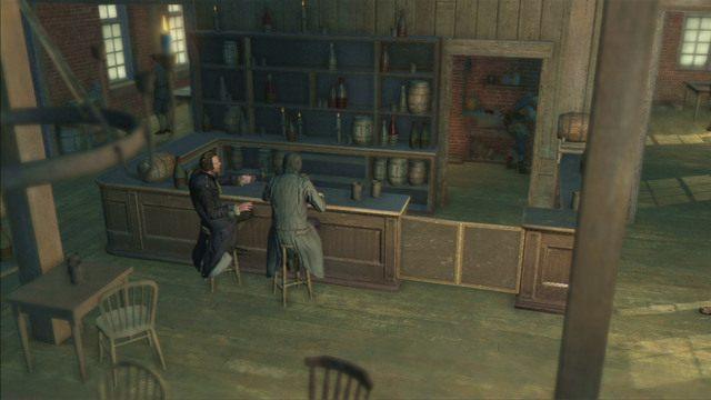 Gdy walka dobiegnie końca, będziesz mógł ruszać dalej na spotkanie z Adamsem oraz odblokujesz misje wyzwalania dzielnic - Sekwencja 6 - Na tropie Johnsona | Solucja Assassins Creed 3 - Assassins Creed 3 - poradnik do gry