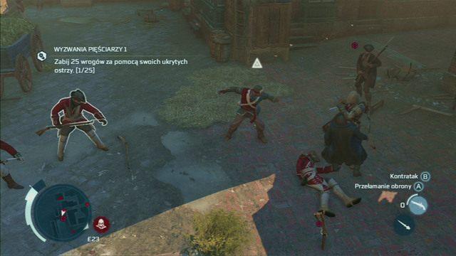 Gdy wszystko już wybuchnie, udaj się we wskazane miejsce i zabij czekających tam poborców podatkowych - Sekwencja 6 - Na tropie Johnsona | Solucja Assassins Creed 3 - Assassins Creed 3 - poradnik do gry