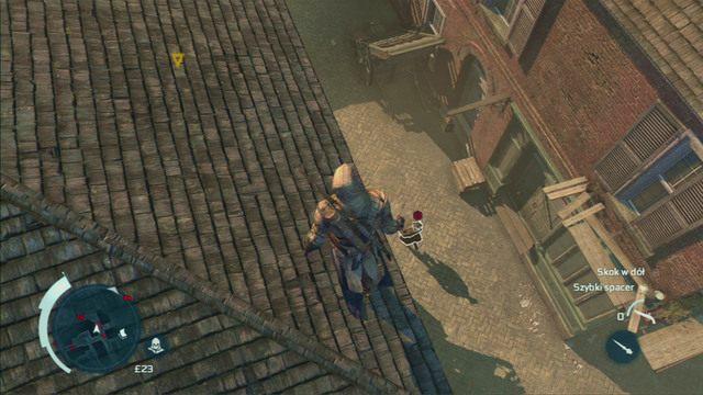 Twoim kolejnym celem są przemytnicy przechadzający się po ulicach Bostonu - Sekwencja 6 - Na tropie Johnsona | Solucja Assassins Creed 3 - Assassins Creed 3 - poradnik do gry