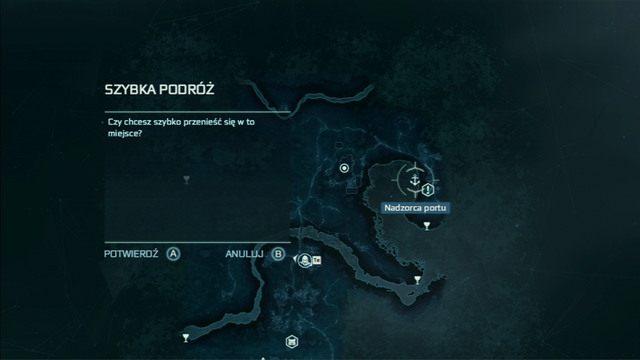 Kolejne zadanie czeka na ciebie na przystani - 5 - Początek szkolenia - Opis przejścia - Assassins Creed III - poradnik do gry