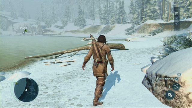 Spotkaj si� z czekaj�cym na miejscu Achillesem, a nast�pnie po kr�tkiej animacji wr�� do posiad�o�ci - 5 - Pocz�tek szkolenia - Opis przej�cia - Assassins Creed III - poradnik do gry