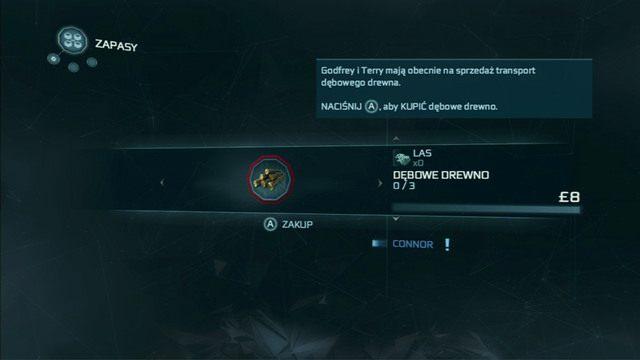 Mistrz nauczy cię tam zarządzać osadą i wysyłać konwoje handlowe - 5 - Początek szkolenia - Opis przejścia - Assassins Creed III - poradnik do gry