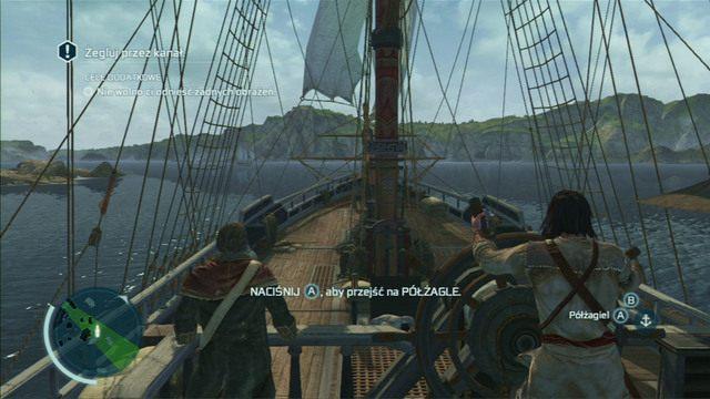 Cel dodatkowy: Nie wolno ci odnieść żadnych obrażeń - 5 - Nauka na błędach - Opis przejścia - Assassins Creed III - poradnik do gry