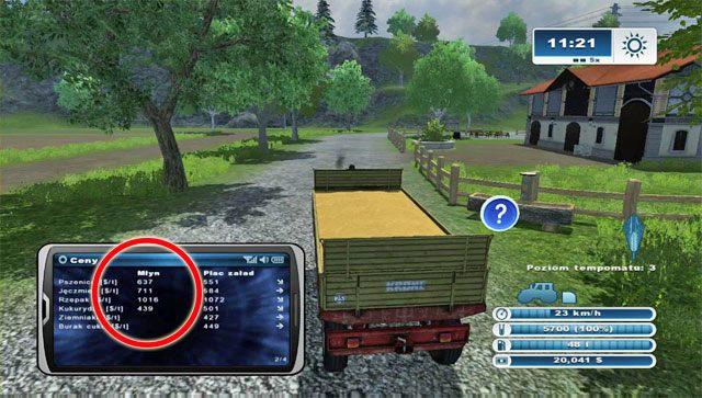 Czas skorzysta� z drugiego sposobu pozyskania pieni�dzy - Pierwsza sprzeda� sprz�tu i nowy zakup - opryskiwacz - Pierwsze kroki - Farming Simulator 2013 - poradnik do gry